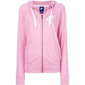 Nike zip up hoodie - Pink